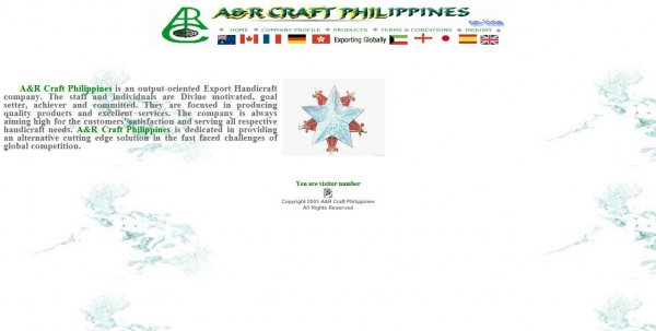 2012 Launching of New Website | News and Updates | A & R Craft